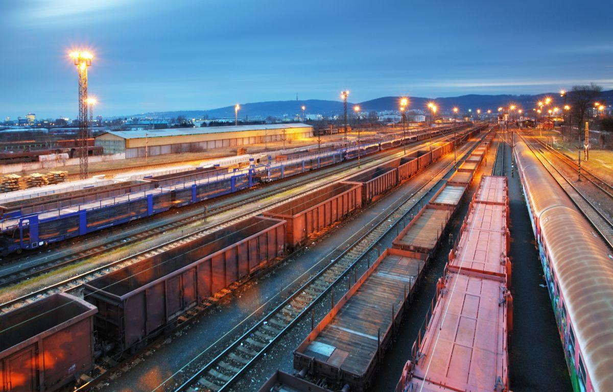 железнодорожный транспорт в техникуме Польши гал 3